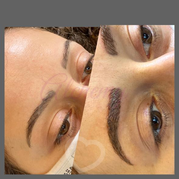Perfect Natural Fill Microblade Eyebrows Near Me